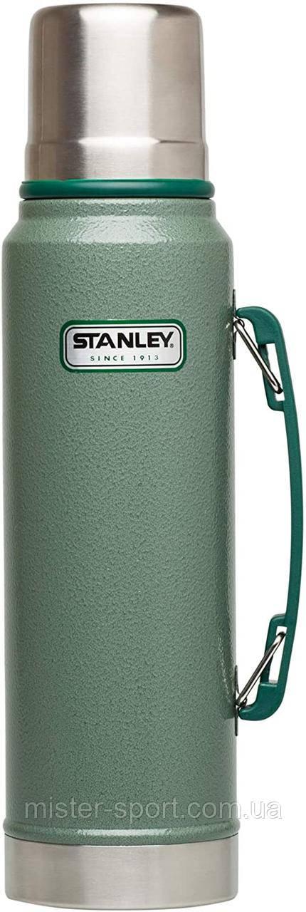 Термос STANLEY Classic Legendary 1 литр зелёный Стенли Стэнли Стенлі Класік Классик