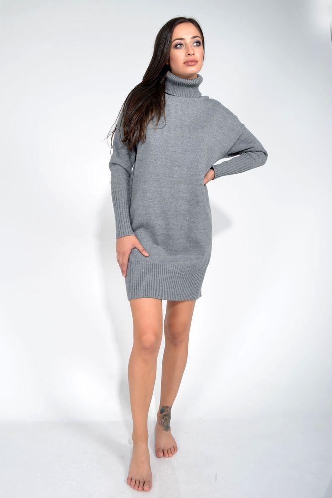 Туника женская 253V001 цвет Серый