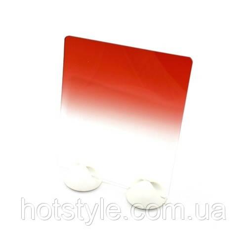 Светофильтр Cokin P красный градиент, квадратный, 103712
