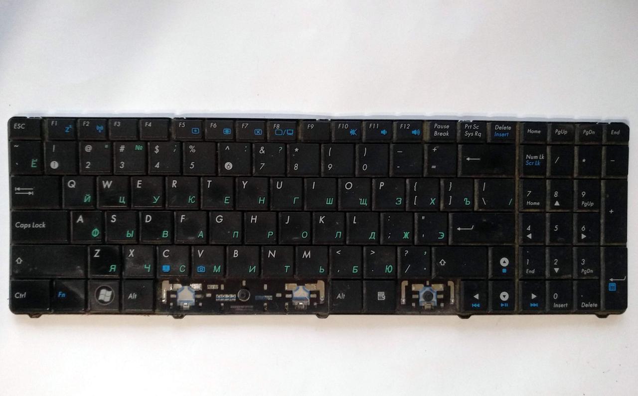 455 Клавиатура Asus K50 K51 F52 F90 X70 K60 K70 K72 X5 N51 P50 - 04GNV91KRU00-1 0KN0-EL1RU01 V090562BS1
