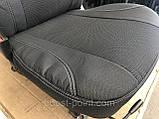 Чехлы на сиденья модельные (автоткань) chevrolet cobalt 2013+ шевроле кобальт деленная спинка, фото 3