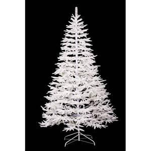 Новогодняя искусственная литая ель 2.1 метра Альпийская белая