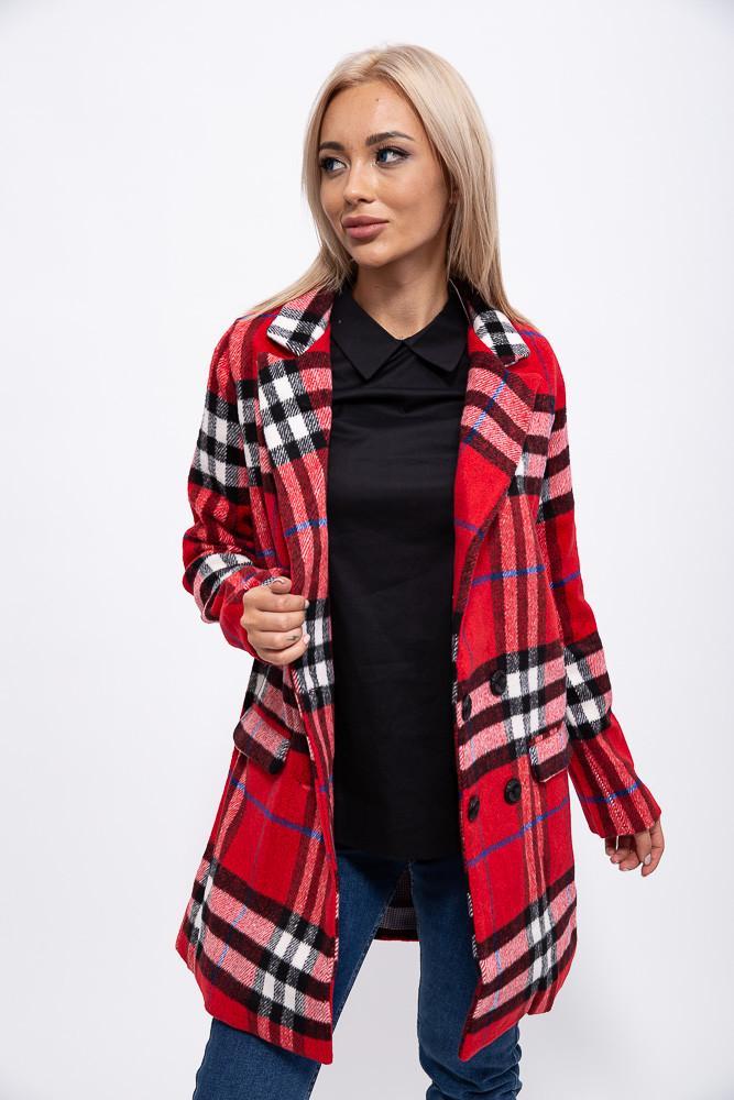 Пальто женское 153R624 цвет Красный
