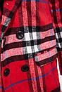 Пальто женское 153R624 цвет Красный, фото 2