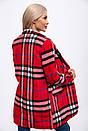 Пальто женское 153R624 цвет Красный, фото 3