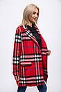 Пальто женское 153R624 цвет Красный, фото 4