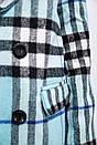 Пальто женское 153R624 цвет Голубой, фото 2