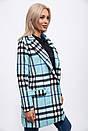 Пальто женское 153R624 цвет Голубой, фото 4
