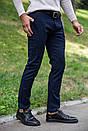 Брюки мужские 123R17576 цвет Темно-синий, фото 4