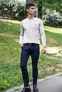 Брюки мужские 123R17576 цвет Темно-синий, фото 5