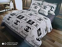 Двоспальний постільний комплект Шанель