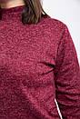 Гольф женский 153R4016 цвет Бордовый, фото 2
