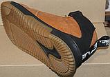 Ботинки песок зимние мужские кожаные от производителя модель ДР1035-1, фото 3