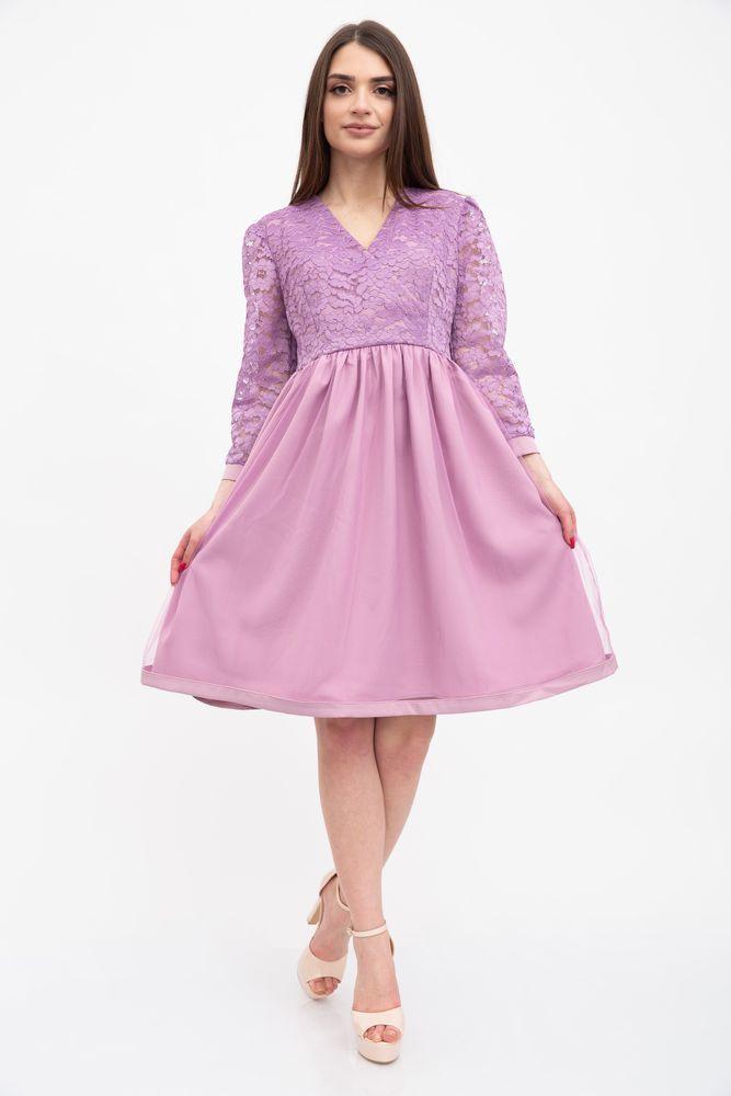 Платье женское 131R2845 цвет Сиреневый