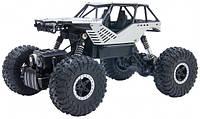 Автомобиль Sulong Toys Off-Road Crawler на ручном управлении – Rock серебристый, металлический корпус 1:18, фото 1