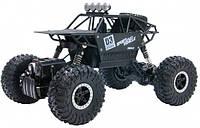 Автомобиль Sulong Toys Off-Road Crawler на ручном управлении – Max Speed матовый чёрный, металлический корпус 1:18, фото 1