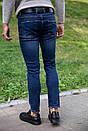 Джинсы мужские 123R12667 цвет Темно-синий, фото 3