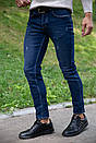 Джинсы мужские 123R12667 цвет Темно-синий, фото 4