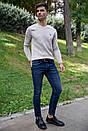 Джинсы мужские 123R12667 цвет Темно-синий, фото 5