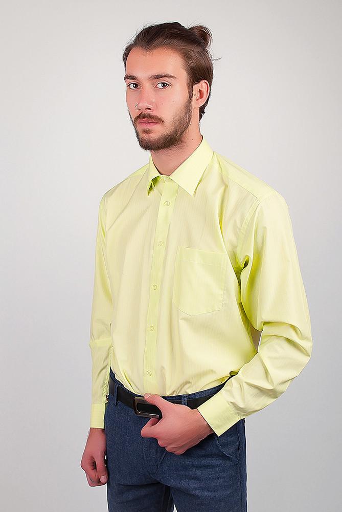 Рубашка Zeg №818-54 цвет Салатовый