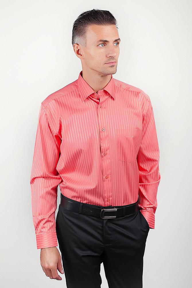 Рубашка Fra №878-3 цвет Коралловый