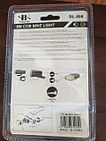 Велосипедный фонарь со стопом XBalog BL-808 с креплением, набор, фото 3