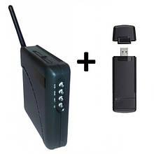 3G модем Novatel U720 + WiFi-роутер Unefon MX-001