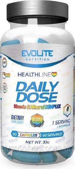 Витамины Evolite Nutrition Daily Dose 60 капс.