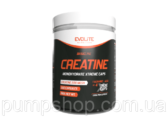 Креатин моногидрат Evolite Nutrition Creatine Xtreme 300 капс., фото 2
