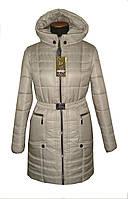 Зимняя женская куртка полупальто