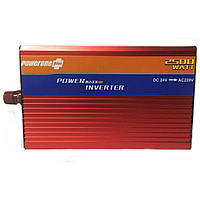 Перетворювач PowerOne Plus 24V-220V 2500W