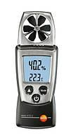 Анемометр – термогігрометр Testo 410-2 (0,4...20 м/с; -10...+50 °C; 0...100 %) Німеччина
