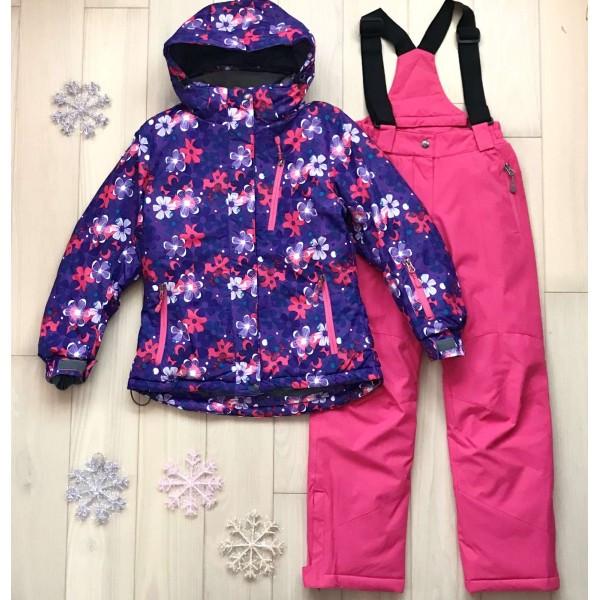 Детский зимний комплект для девочки термо Kalborn K887A |  на возраст от 3 до 7 лет