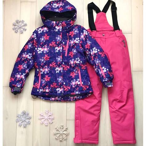 Детский зимний комплект для девочки термо Kalborn K887A |  на возраст от 3 до 7 лет, фото 2