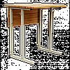 """Парта 1-местная """"ЭКСКЛЮЗИВ"""", с горизонтальной деревянной столешницей, рост. групп № 4,5,6 - 600х500х640-760 мм"""