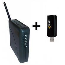 3G модем Novatel U760 + WiFi-роутер Unefon MX-001