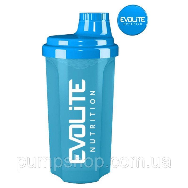 Шейкер Evolite Nutrition Shaker 700 мл голубой