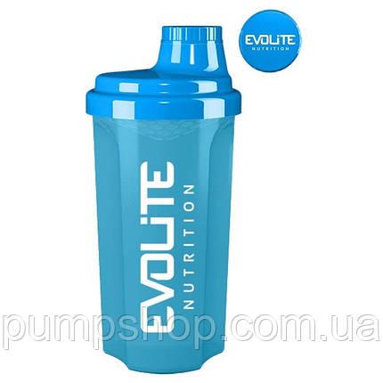 Шейкер Evolite Nutrition Shaker 700 мл голубой, фото 2