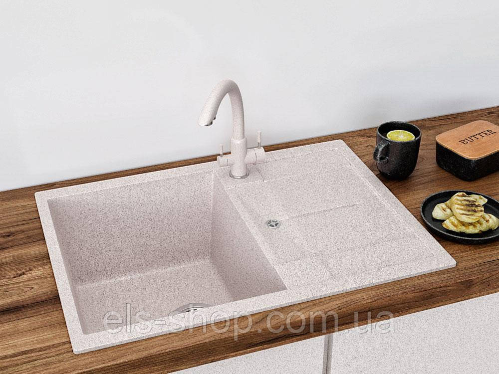 Кухонна мийка VALENTINA Gr NAPOLI Compact авена