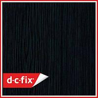 Самоклейка, декоративная самоклеящаяся пленка D-C-Fix, черное дерево 200-5180, 90см*15м