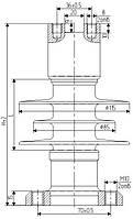 Изолятор ОСК 6-10-В02-1 УХЛ1