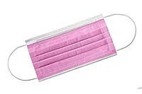 Маска медицинская медмаски штампованая 500 шт Розовая (500розоваямаска)