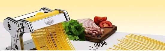 Насадка спагетти для тестораскаточной машинки Marcato Accessorio Spaghetti Chitarra 2 mm, фото 2