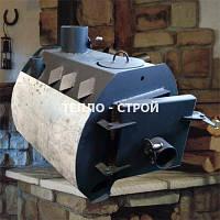 Отопительная печь булерьян  Эконом 3в1