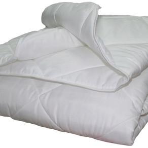 Одеяло Lotus Flower белое 200х210 см (двуспальное-евро)