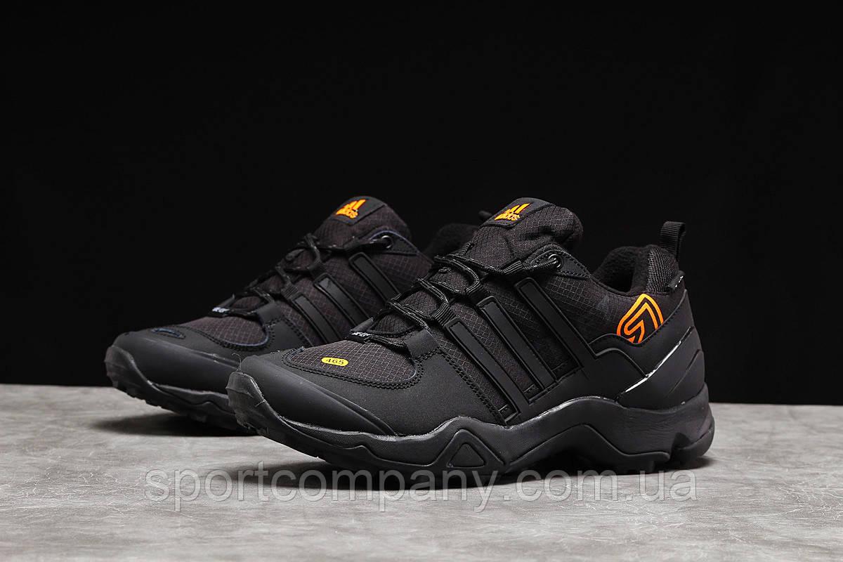 Зимние мужские кроссовки 31254, Adidas 465, черные, [ 41 ] р. 41-26,3см.