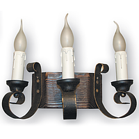 Бра настенное 3 свечи Е14 серии Venza 120523