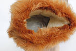 Угі жіночі рижі,з хутром, фото 6
