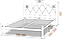 Металлическая кровать Эсмеральда Люкс. ТМ Металл-Дизайн, фото 4