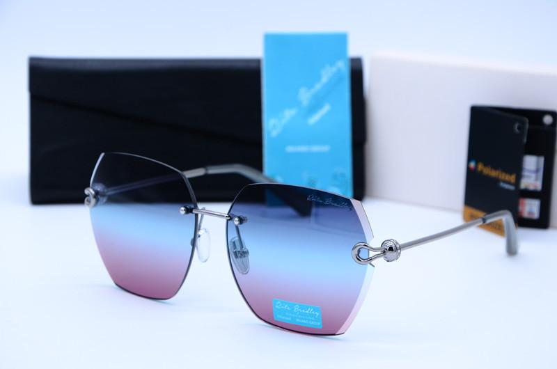 Жіночі сонцезахисні квадратні окуляри Rita Bradley поляризовані 9001 с04